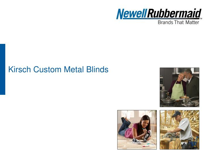 kirsch custom metal blinds n.