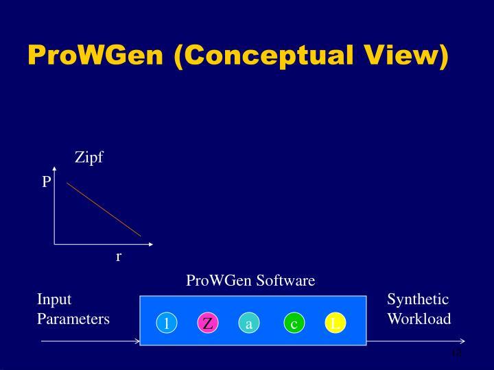 ProWGen (Conceptual View)