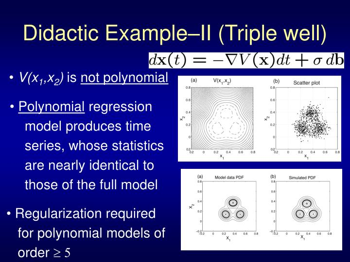 PPT - Linear-Regression-based Models of Nonlinear Processes ...