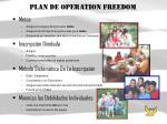 plan de operation freedom