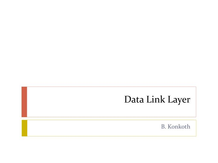 data link layer n.