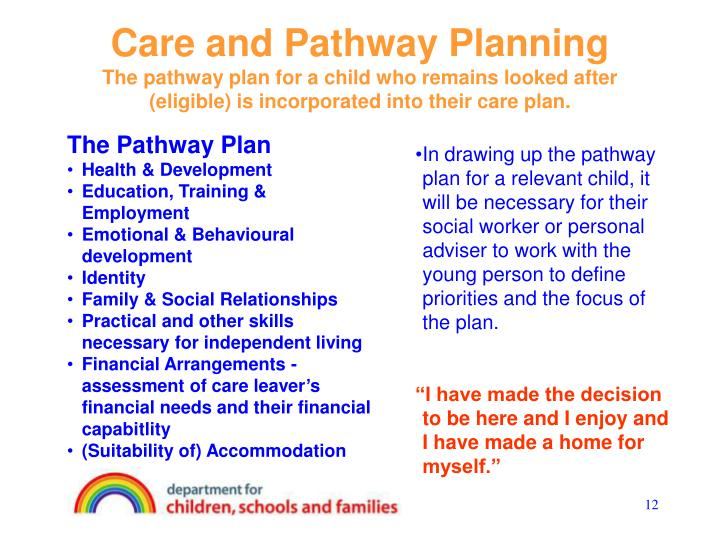 Care and Pathway Planning