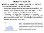 distance traveled1
