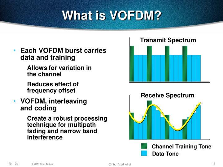 What is VOFDM?