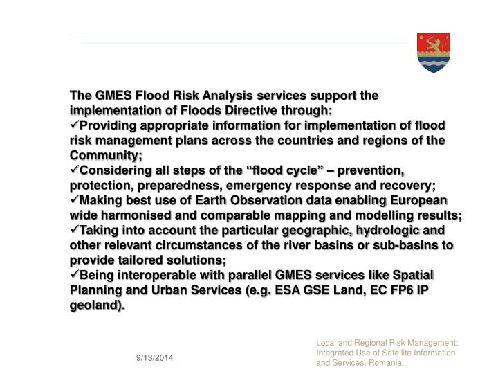thesis statement of flood prevention Problem statement / needs assessment there is a tremendous need for coordinated and accessible home-based services for seniors in the grossmont healthcare district.