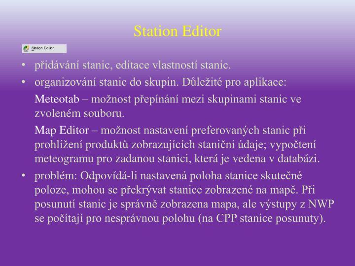 Station Editor