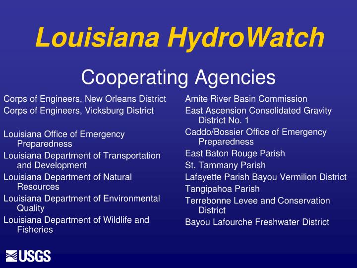 Corps of Engineers, New Orleans District