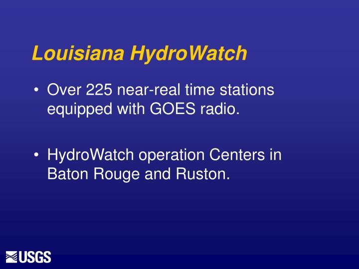 Louisiana HydroWatch