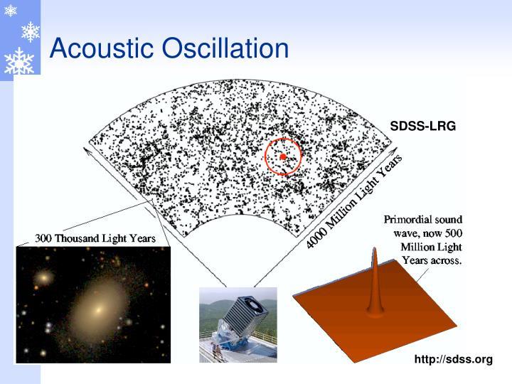 Acoustic Oscillation