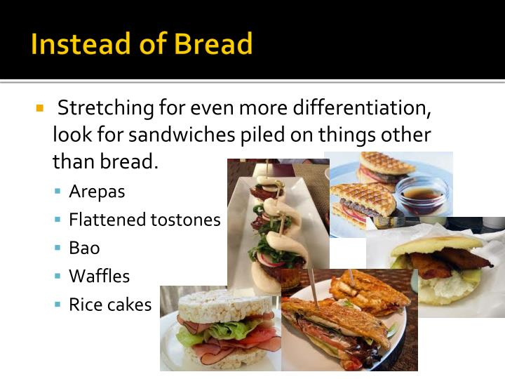 Instead of Bread