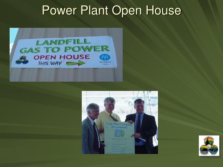 Power Plant Open House