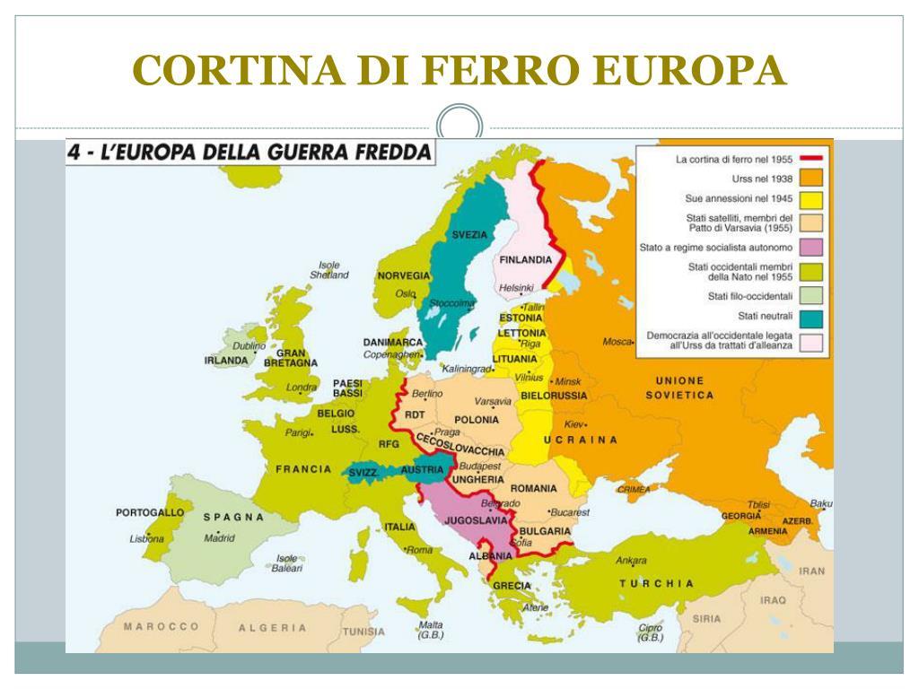 Cartina Europa 1938.Ppt Dalla I Guerra Mondiale Alla Guerra Fredda Powerpoint Presentation Id 4330444