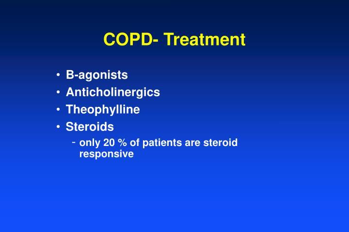 COPD- Treatment
