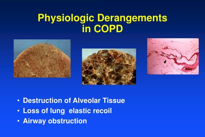 Physiologic Derangements in COPD