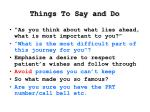 things to say and do