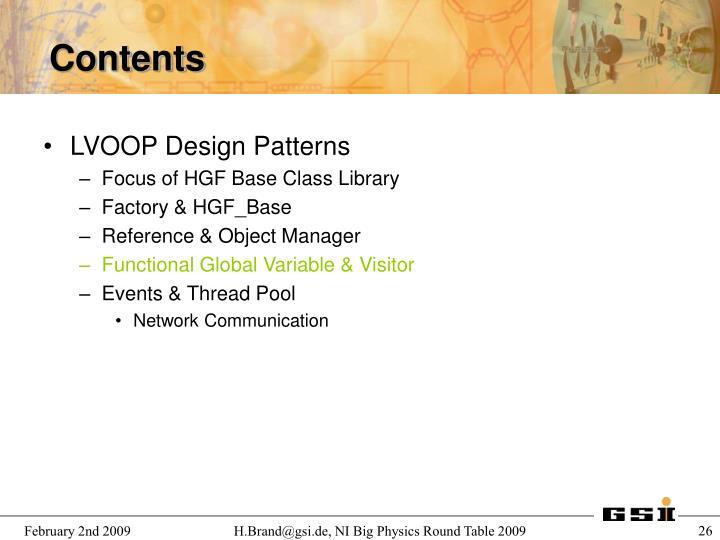LVOOP Design Patterns
