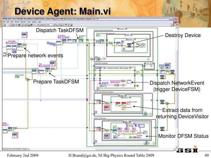 Device Agent: Main.vi