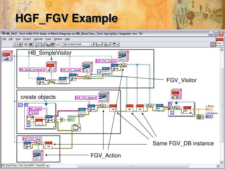 HGF_FGV Example