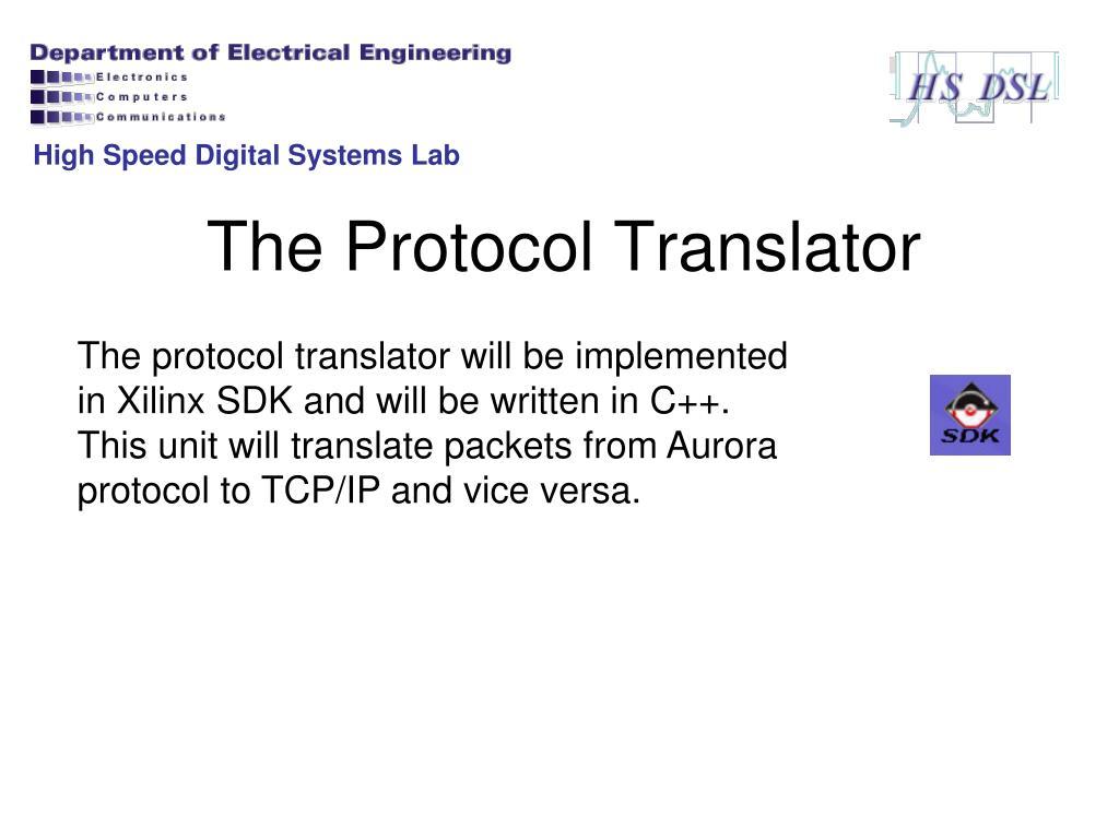 PPT - Project D02209: FPGA Bridge between High Speed Channel