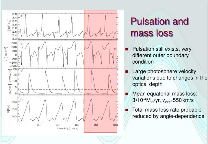 Pulsation and