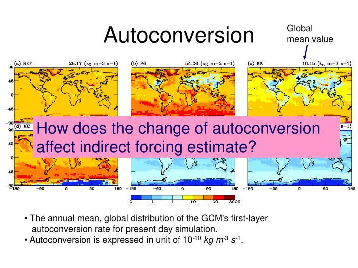 Autoconversion