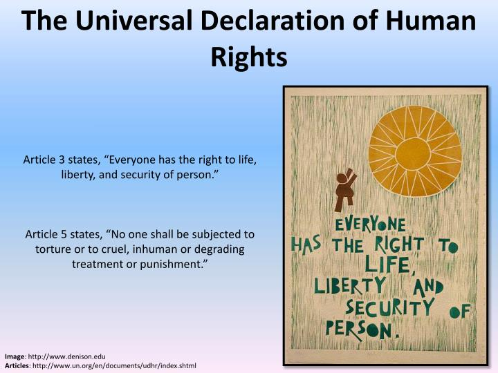 what are your perceptions on the universal declaration of human essay The universal declaration claims no such heritage - a draft reference to the creator was consciously left out of the final text there is a built-in conflict between the universality of human rights and the particularity of religious perspectives.