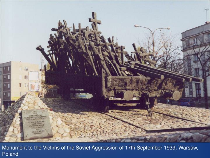 Monument to the Victims of the Soviet Aggression of 17th September 1939, Warsaw, Poland