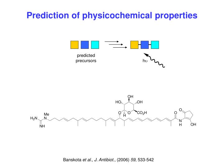 Prediction of physicochemical properties