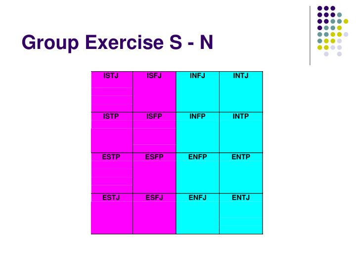 Group Exercise S - N