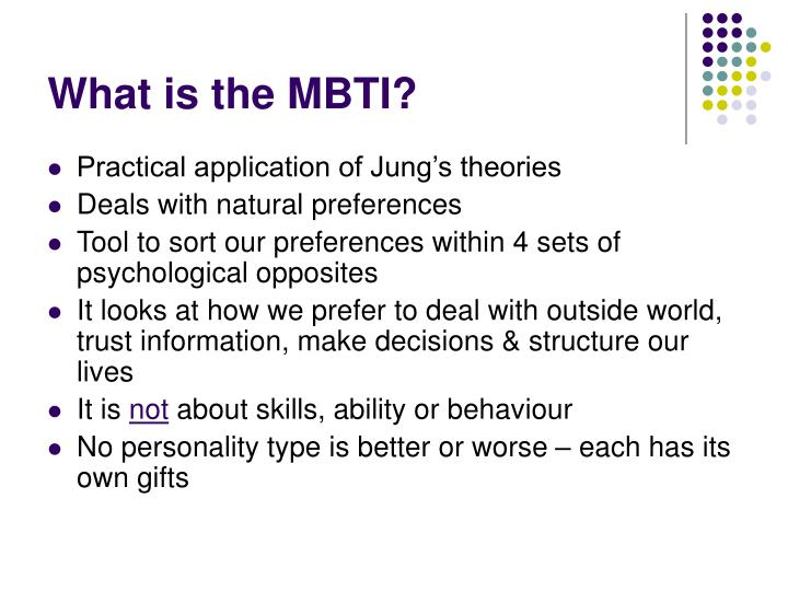 What is the MBTI?
