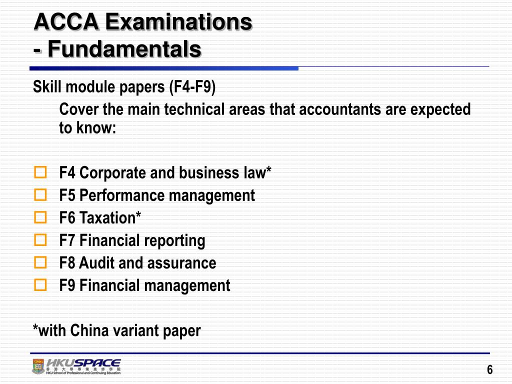 Acca F4 Past Papers