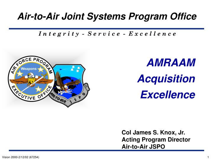 amraam acquisition excellence n.
