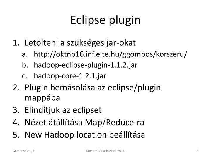 Eclipse plugin