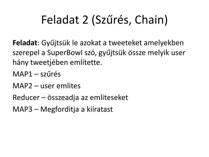 Feladat 2 (Szűrés,