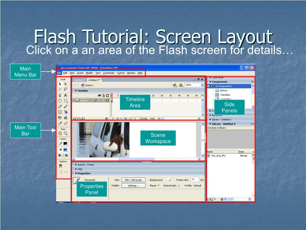 PPT - Using Flash to Enhance Instruction PowerPoint