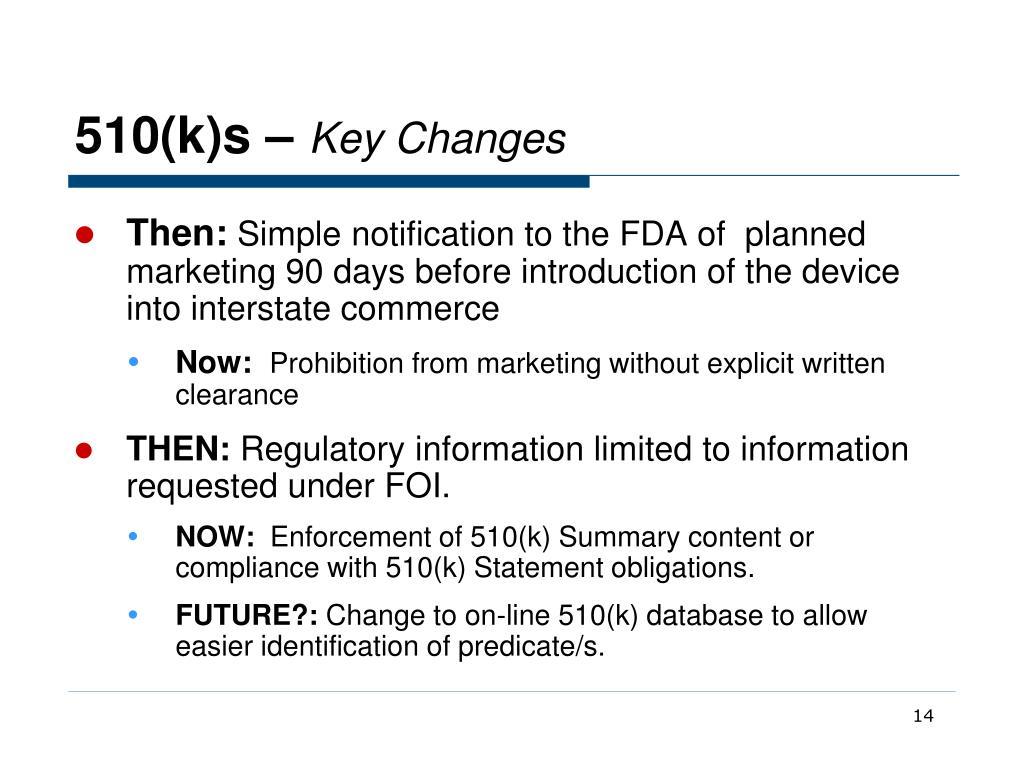 fda 510 k database