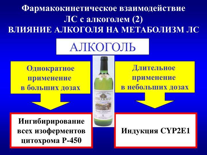 Дженерики алкоголь