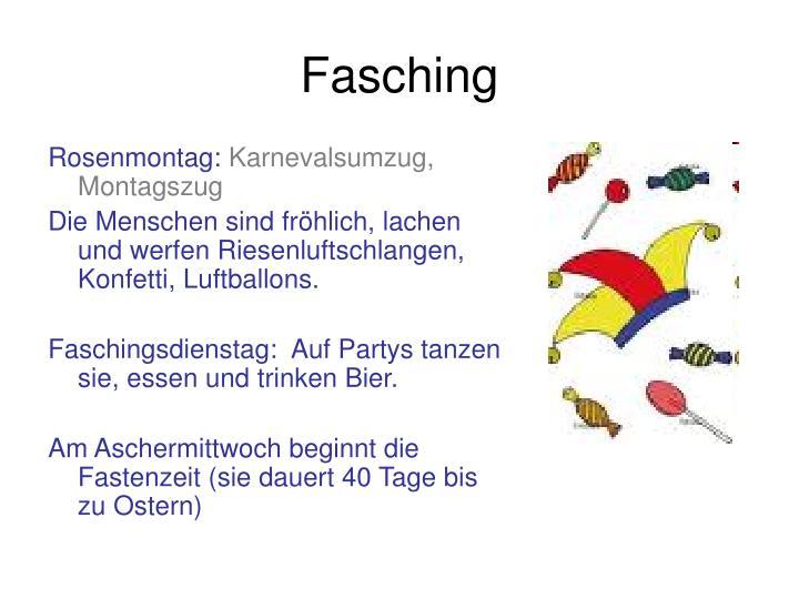 Rosenmontag: