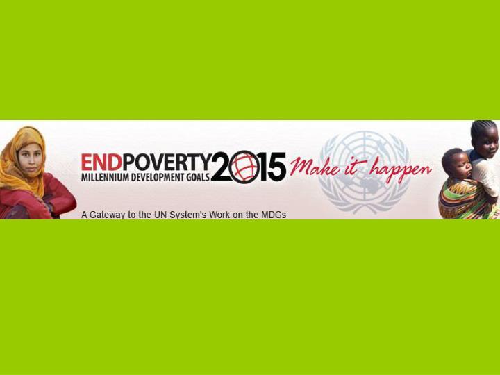 Mehr als heisse luft die millennium development goals