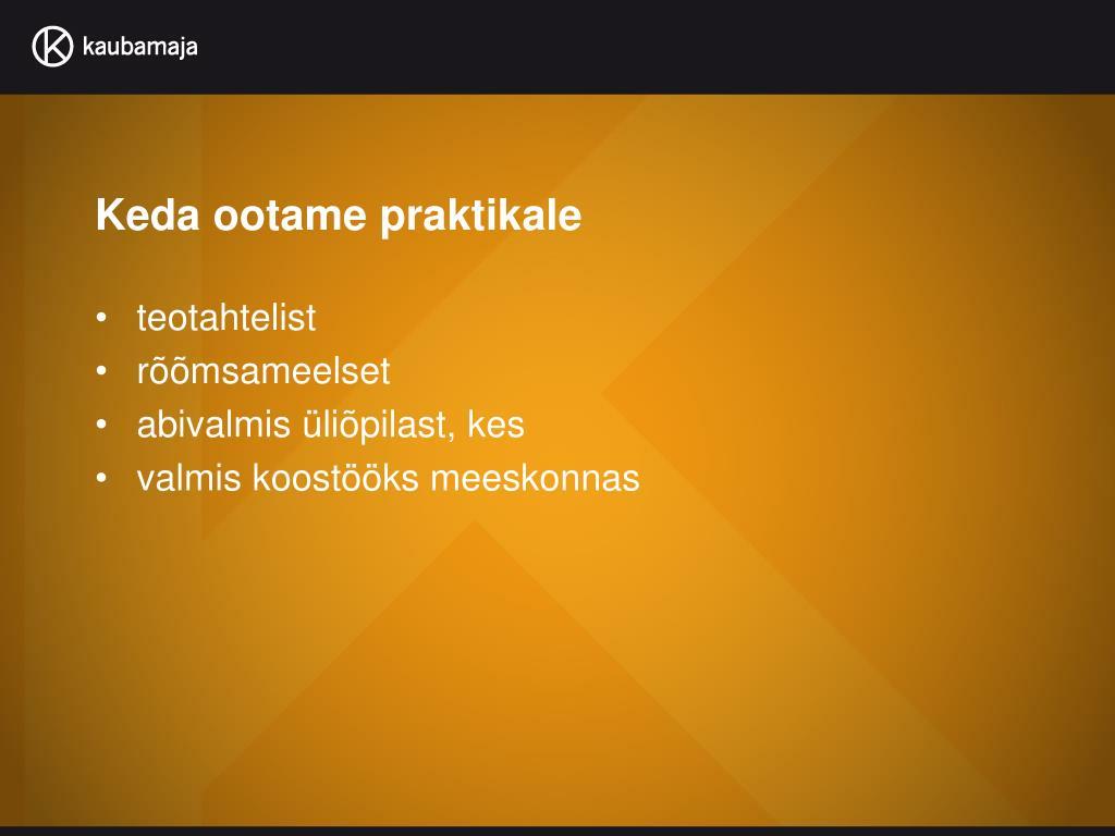 983f92577a9 PPT - Tallinna Kaubamaja AS PowerPoint Presentation - ID:4332543