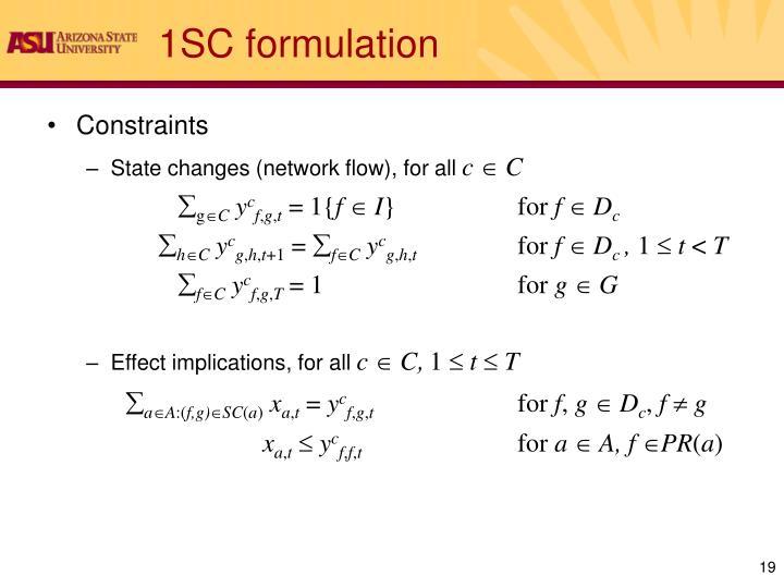 1SC formulation