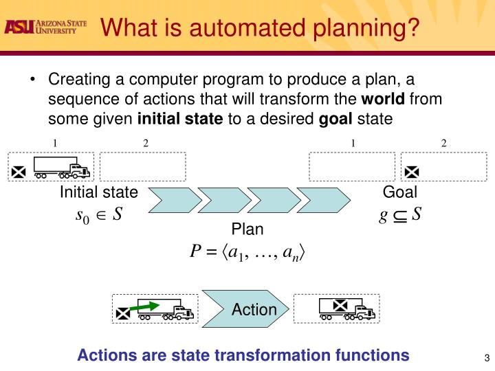 What is automated planning1