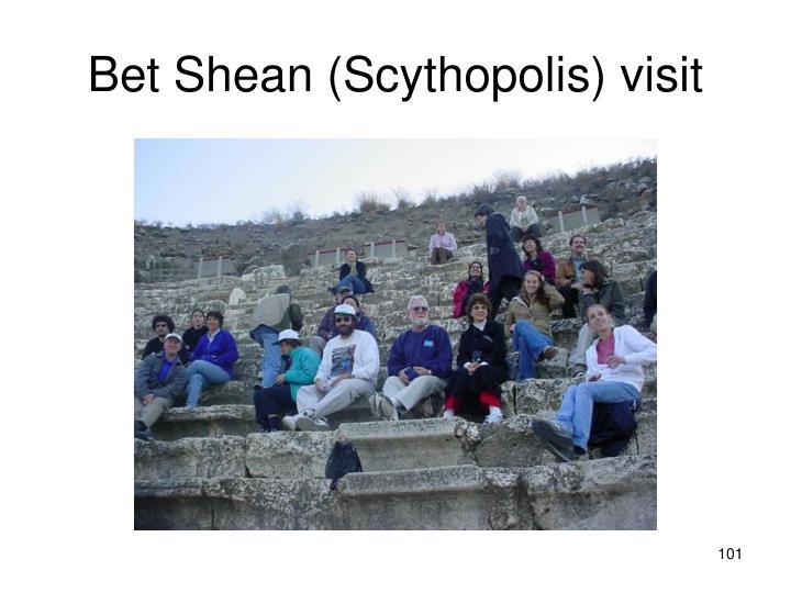Bet Shean (Scythopolis) visit