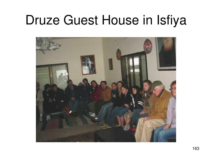 Druze Guest House in Isfiya