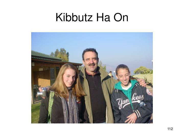 Kibbutz Ha On