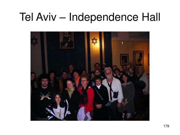 Tel Aviv – Independence Hall