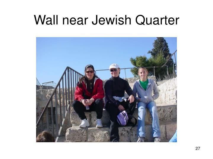 Wall near Jewish Quarter