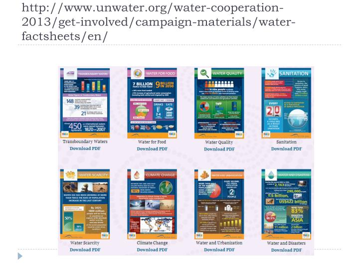 http://www.unwater.org/water-cooperation-2013/get-involved/campaign-materials/water-factsheets/en/