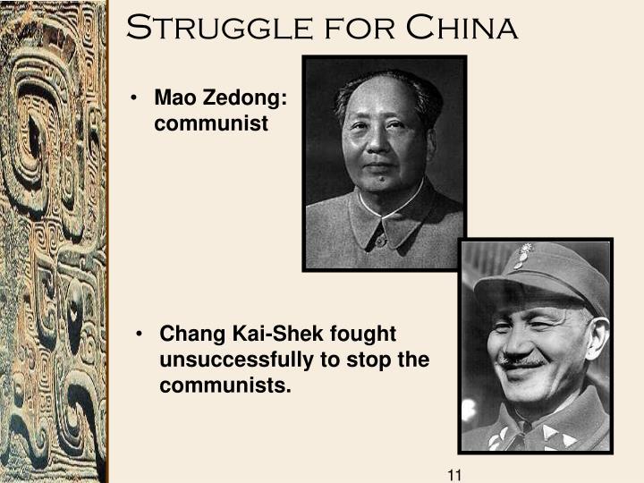 Struggle for China