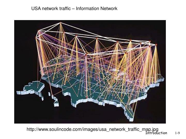 USA network traffic – Information Network